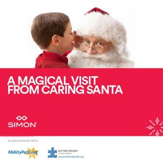 Discovery Point Mall of GA Caring Santa