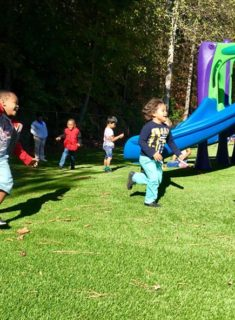 kids having fun at our summer camp in Lawrenceville - Cruse Road