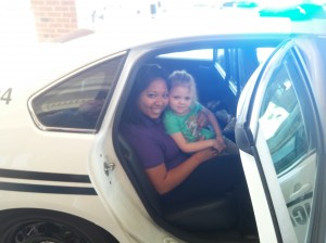 Gwinnett County Police Department Visits Discovery Point Mall of GA