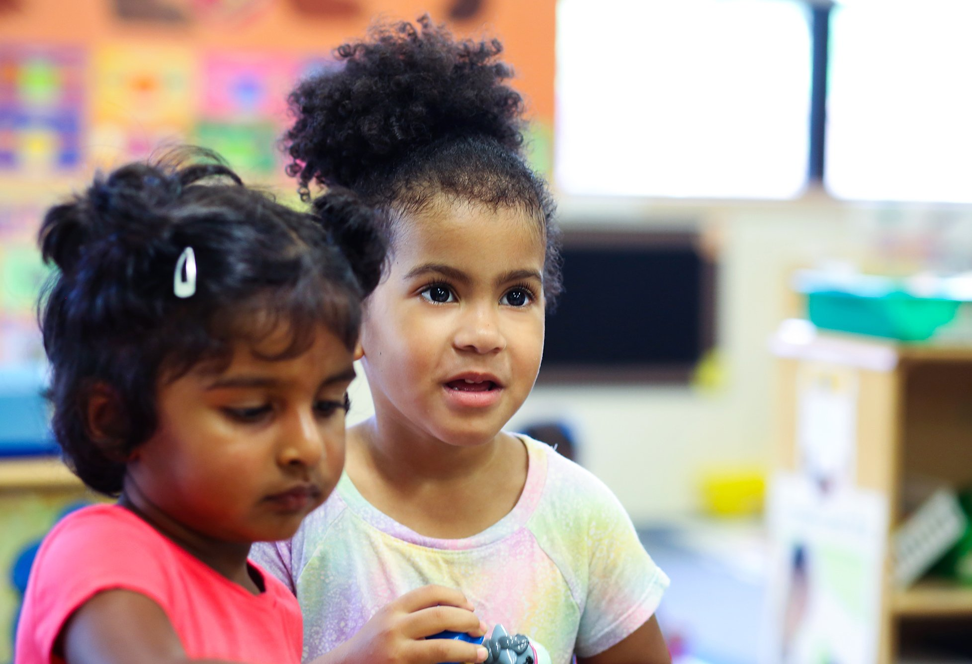 Two kids at our After School Programs in the Berkeley Lake Area