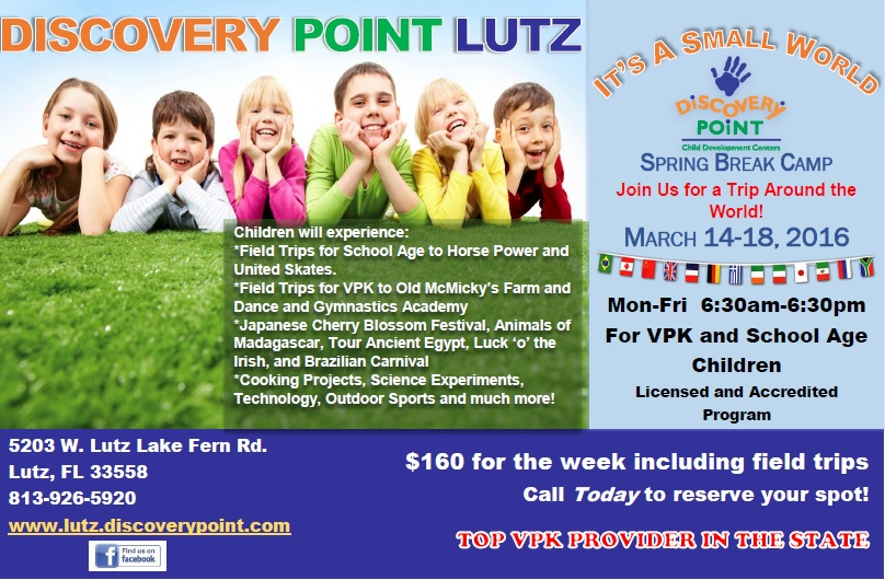 Discovery Point Lutz Spring Break Camp