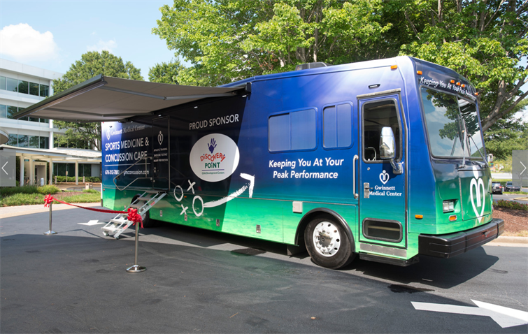 Gwinnett Medical Center's Sports Medicine and Concussion Care-A-Van