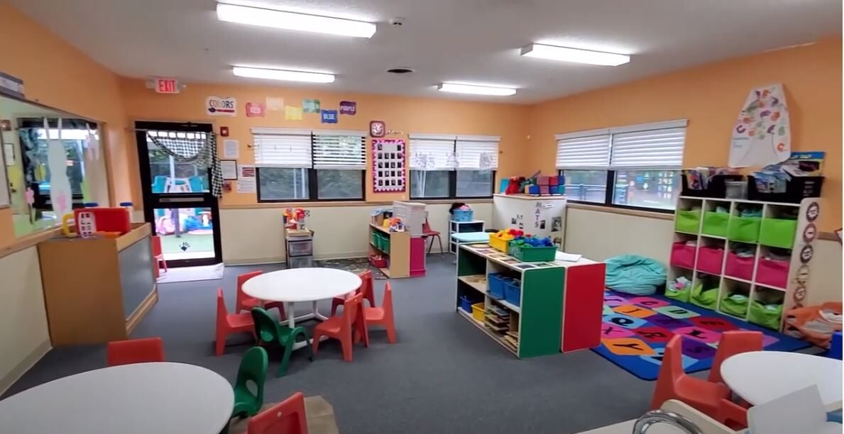 day care franchise classroom